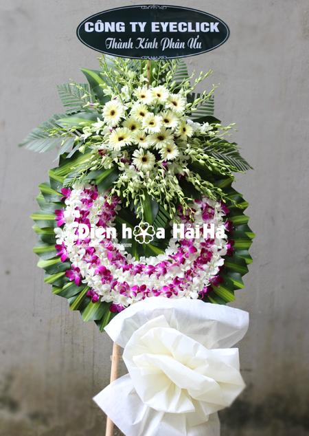 Đặt vòng hoa tang lễ tại Hà Nội Công ty Click