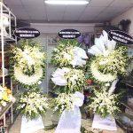 Đặt vòng hoa viếng đám tang tại Quận 6