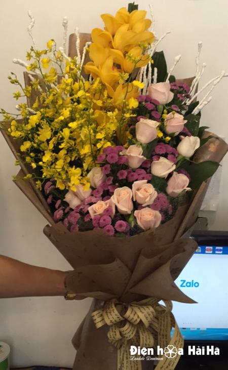 Bó hoa tặng ngày Thầy thuốc Việt Nam