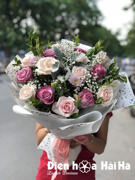 bo hoa tang 20/10 gia re