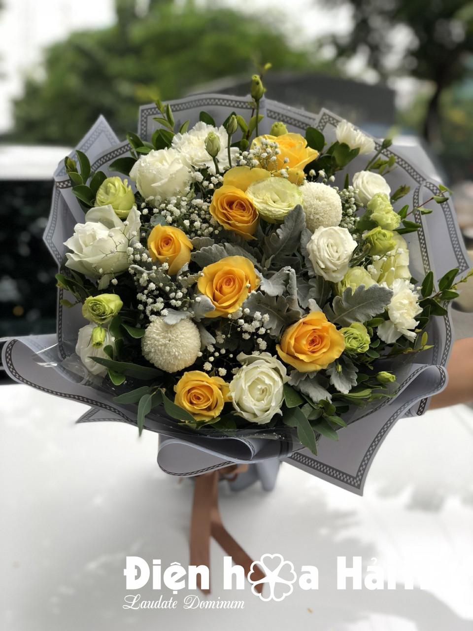 Bó hoa hồng tặng bạn