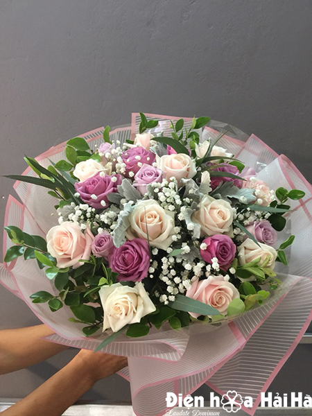 Bó hoa tặng ngày 20/10 giá rẻ