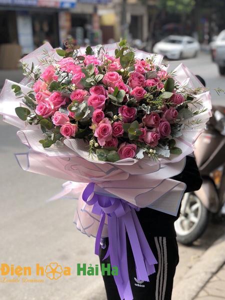 Bó hoa ngày 20/10 tặng vợ