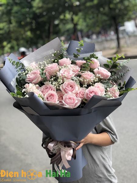 Bó hoa ngày 20/10 chân thành