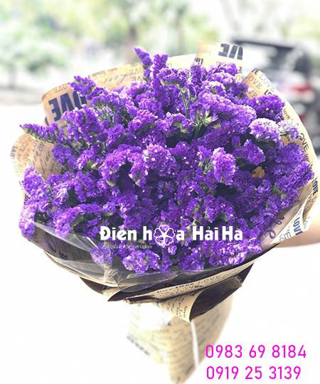Bó hoa salem tím nhập – Mãi yêu em