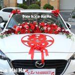 Hướng dẫn chọn bộ hoa giả trang trí phù hợp theo màu xe hoa 2021