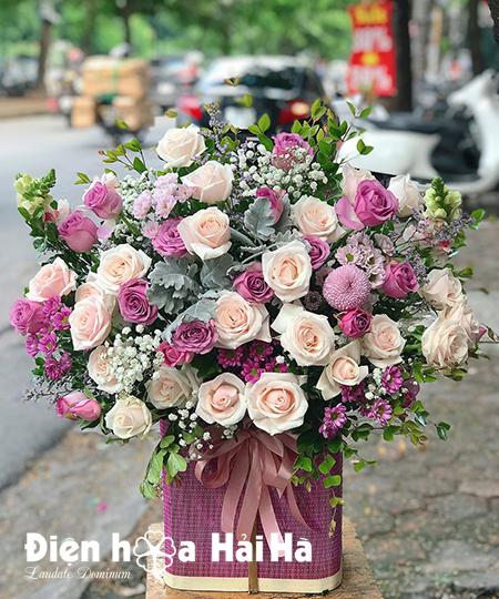Hoa đẹp ngày 8/3 Yêu thương