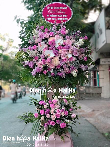 Đặt hoa mừng khai trương cửa hàng – Vạn Sự May Mắn
