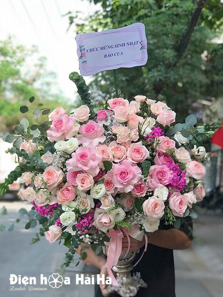 Bình hoa tặng sinh nhật đẹp – Diễm lệ