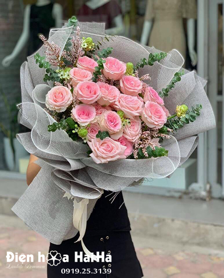 Bó hoa hồng Ohara – Đài các