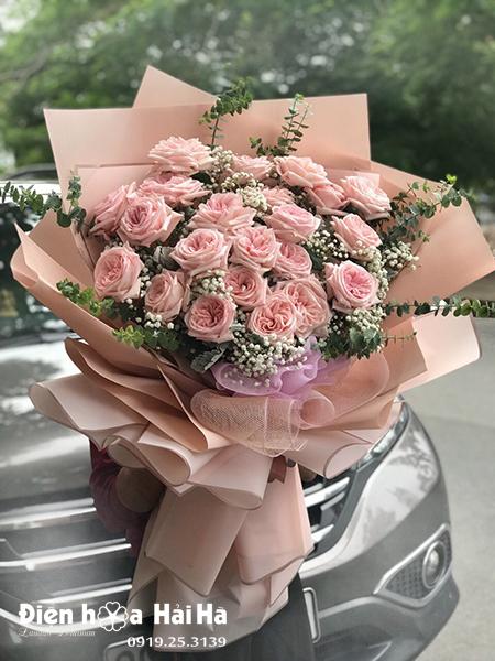 Bó hoa đẹp ngày 20/10 – Ngọc Sắc