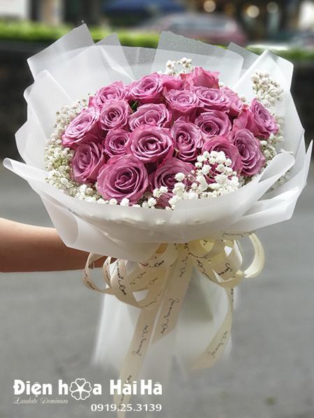 Bó hoa đẹp ngày 20/10 – Thuỷ Chung