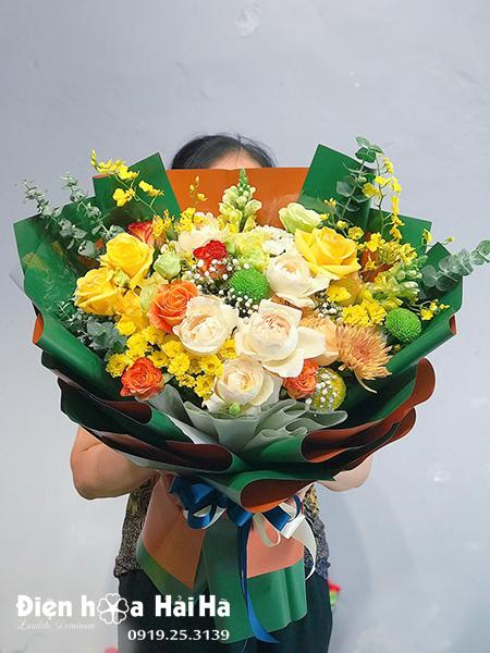 Bó hoa sinh nhật đẹp – Nhiệm màu