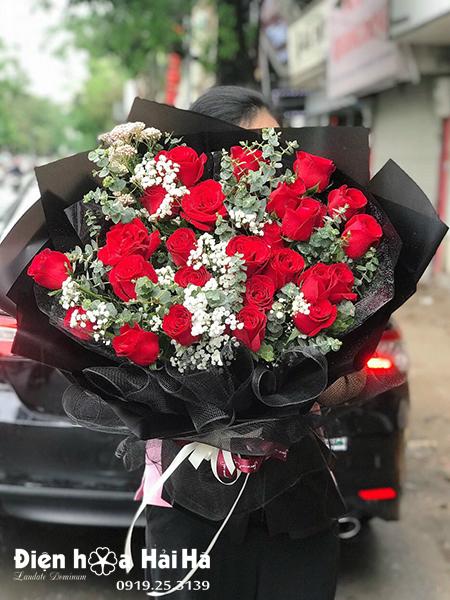 Bó hoa sinh nhật đẹp – Hạnh Phúc