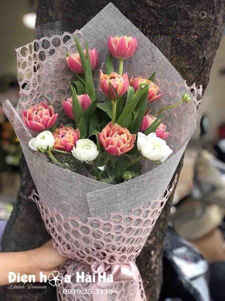 Bó hoa sinh nhật Tulip đẹp – Kiều diễm