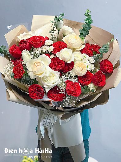 Bó hoa tặng sinh nhật hồng Ohara – Nồng thắm