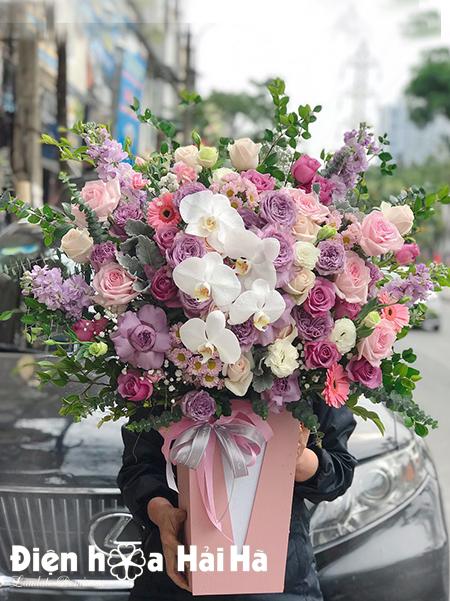Giỏ hoa mừng sinh nhật – Đại Cát